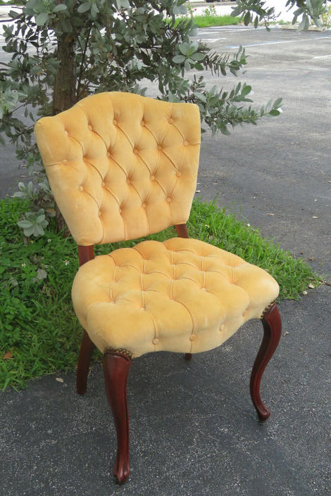 French Desk Vanity Side Chair 1562