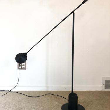 post modern Robert Sonneman George Kovacs Feather floor lamp mid century by TripodModern