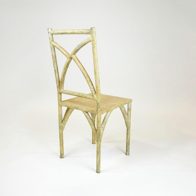 Faux Bois Side Chair