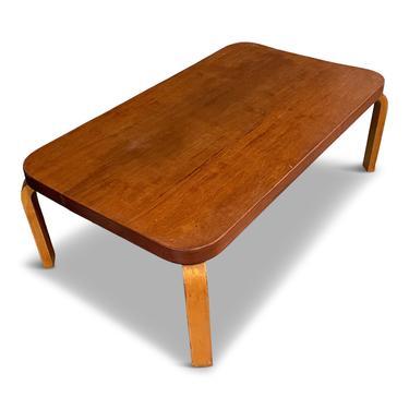 """1939 Finnish """"World's Fair"""" Coffee Table by Alvar Aalto for Artek"""