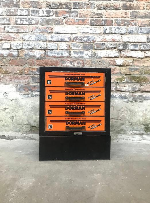 Vintage Dorman Products Parts Cabinets Auto Parts Store by NorthGroveAntiques