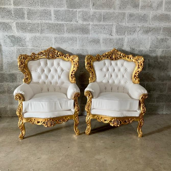 Italian Rococo Vintage French Furniture French Chair *Only 2 Chairs Available* Vintage Furniture Interior Design Baroque Furniture Rococo by SittinPrettyByMyleen