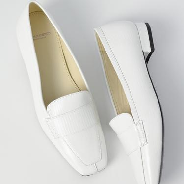 Layla Loafers - White