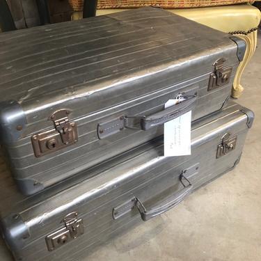 Pair of Vintage Suitcases