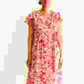 Rebecca Taylor Floral Print Wrap Dress, Size 2