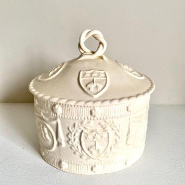 English Creamware Leedsware Hartley Greens & Co. Tobacco Jar by CaminoCollective