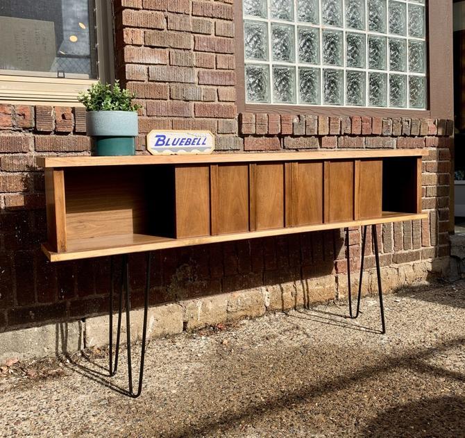 Repurposed Mid-Century Console Table