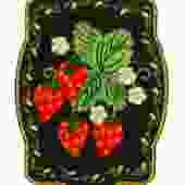 """Patch Ya Later """"Strawberries"""" Patch"""