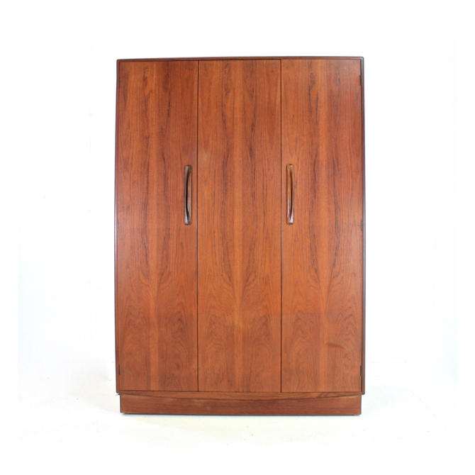 Mid Century Triple Armoire by G Plan by SputnikFurnitureLLC