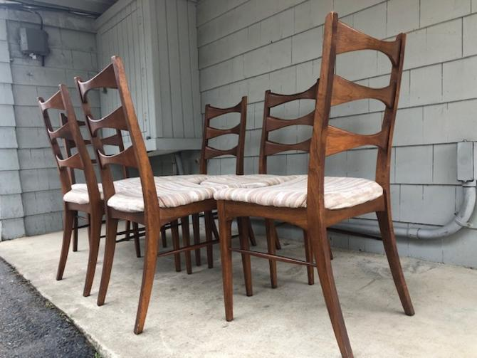 Midcentury Dining Chair Set by Lane