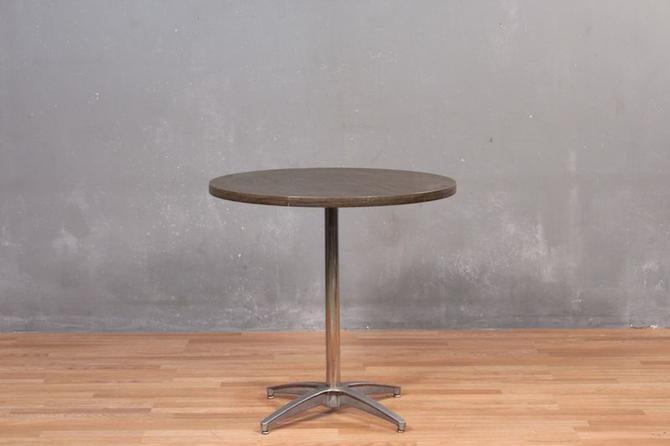 Round Formica-Top Cafe Table – ONLINE ONLY