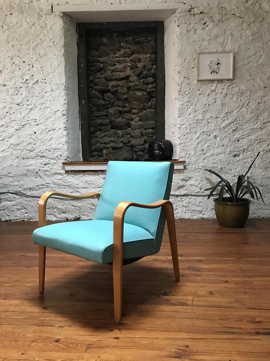 Mid century armchair Thonet bentwood armchair mid century lounge chair by VintaDelphia