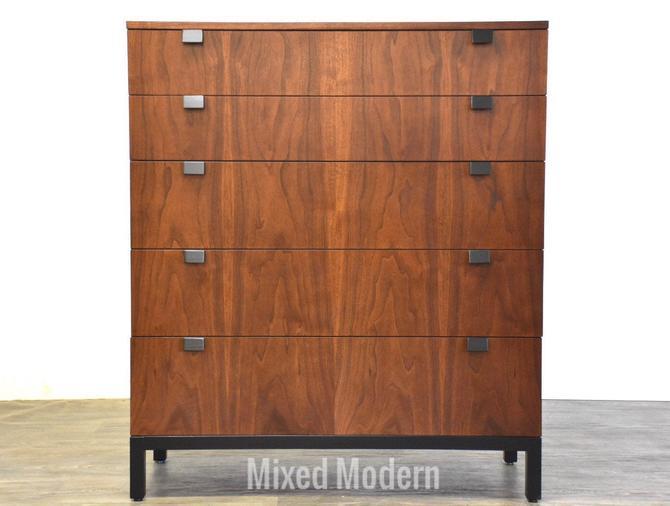 Milo Baughman for Direction Walnut Tall Dresser by mixedmodern1