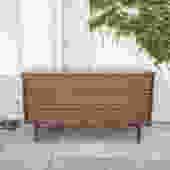 Vintage Walnut 6-Dresser by Basset