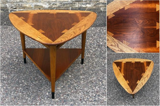 Lane Acclaim Guitar Pick Accent Table