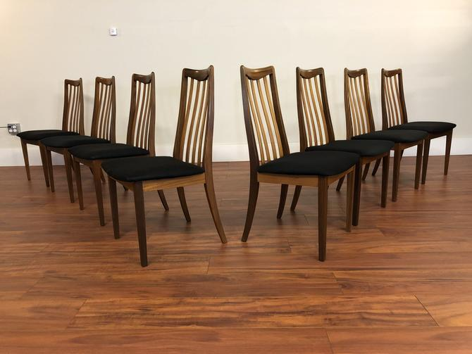 G-Plan Vintage Dining Chairs, Set of 8