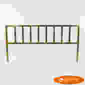 King Gold Polish Aluminum Headboard