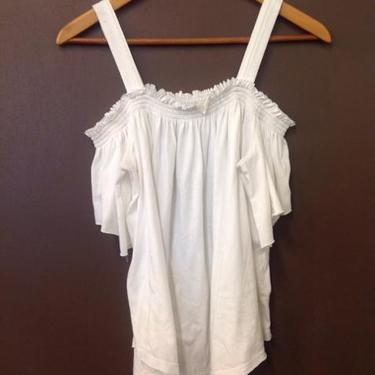 We The Free Size Small White Top