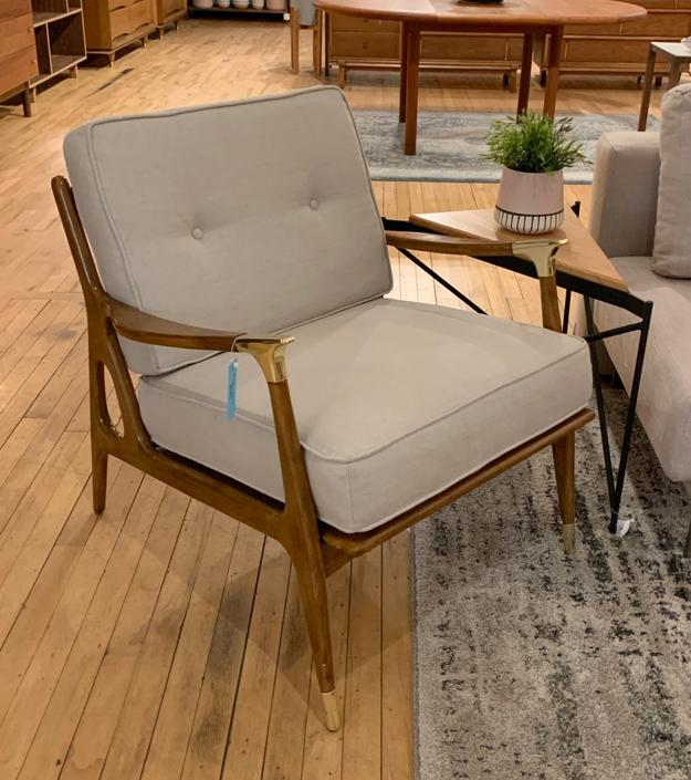 New Mid-Century Style Chair from Anthropologie