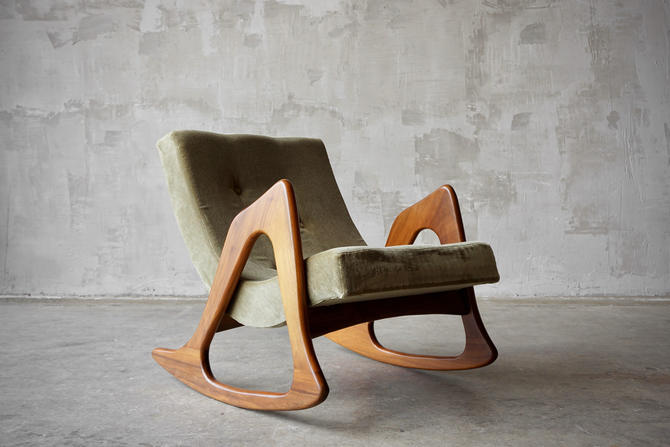 Adrian Pearsall Rocking Chair by FandFVintage