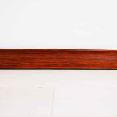 Danish Modern Sculpted Solid Teak Long Tray Bowl by MidCentury55