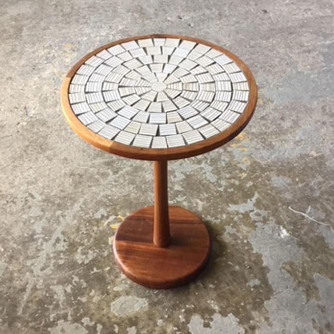HA-19076 Martz Tile Side Table