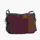 Saint Laurent Suede Messenger Bag