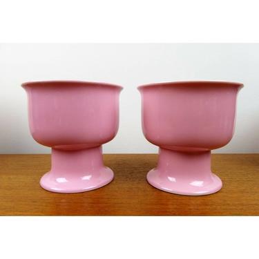 BodaNova Boda Nova - (2) Multi Pot - Signe Persson-Melin - Pink - 1980 by TheFeatheredCurator
