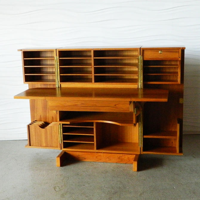 HA-18060 Teak Desk in a Box
