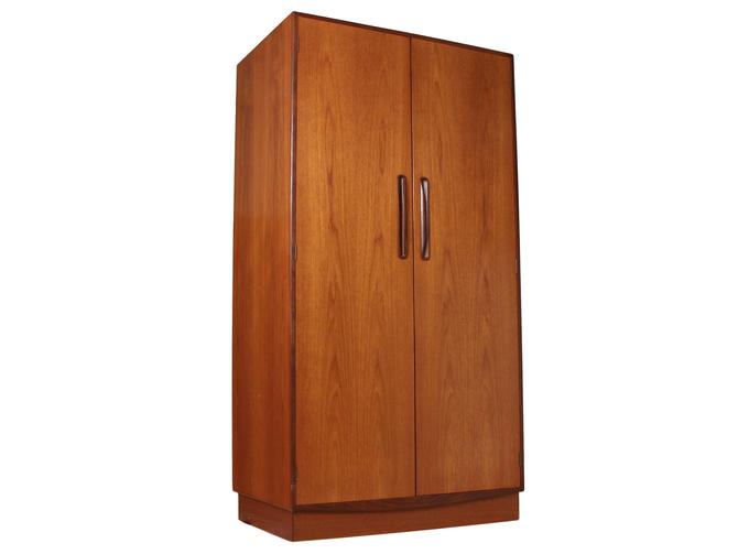 Mid Century G Plan Fresco Teak Wardrobe Armoire by RetroPassion21