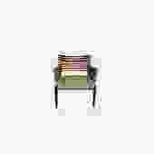 Wooden Chair with Fabric