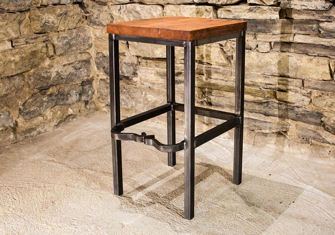 FREE SHIPPING - Right Proper Bar Stools - Classic look for  your brewery, distillery, bar or kitchen! by BarnWoodFurniture