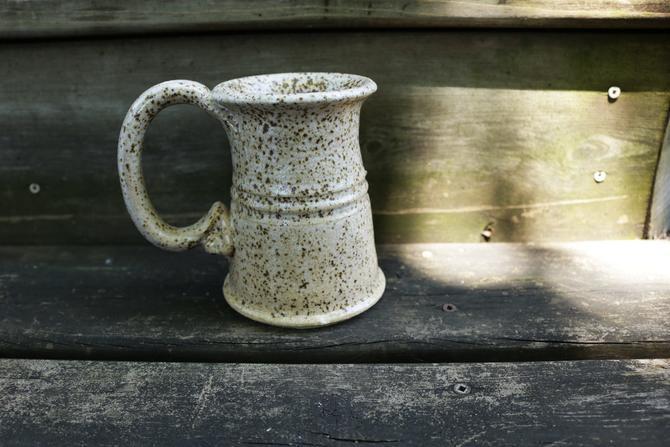 Large Vintage Speckled Mug by YouthquakerVintage