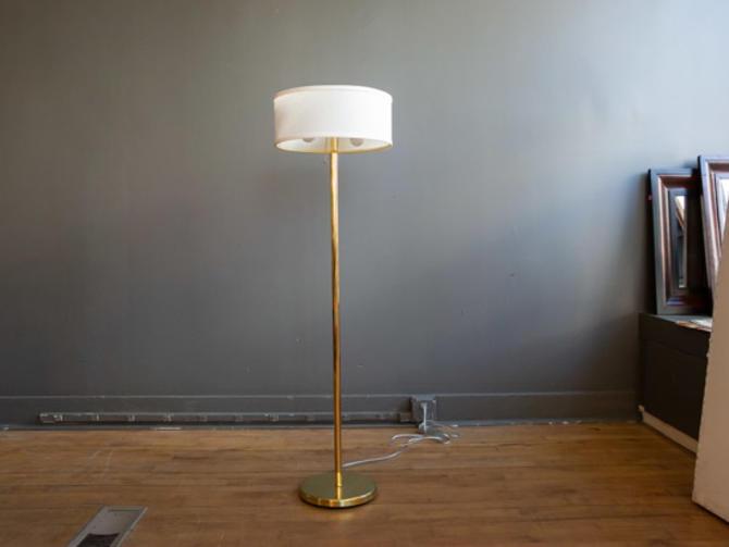 Walter von Nessen Brass Floor Lamp