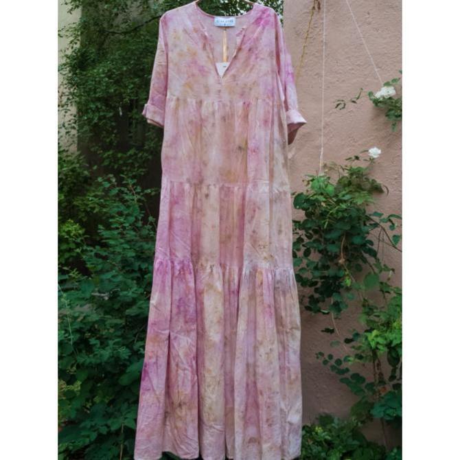 Ni En More Dark Pink Dress