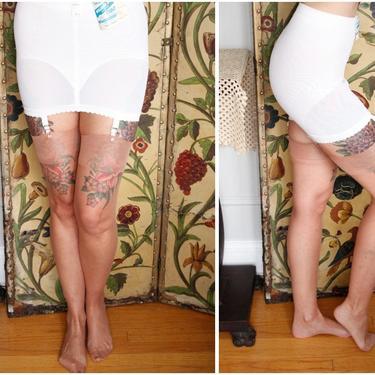 1960s Thigh High Nylons // Glamalon Seamless Mesh Nylon Hosiery // vintage 60s thigh high stockings by dethrosevintage