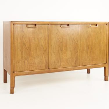 John Stuart Mount Airy Janus Collection Mid Century Walnut 3 Door Sideboard Credenza - mcm by ModernHill