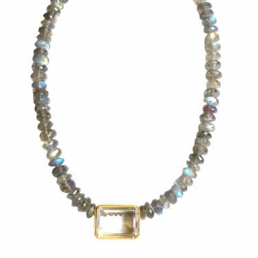 Labradorite Choker Necklace