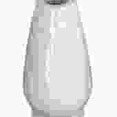 Scandinavian Mid Century Chamotte Ceramic White Vase by Gunnar Nylund for Rorstrand