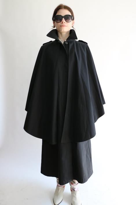 Michael Kors Cape Trenchcoat, Size 4