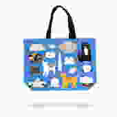 Large Tote Bag  DC Kitty Cats