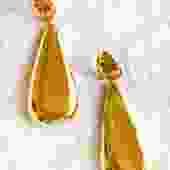 Lila Rice Delfina Earrings