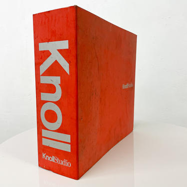 Knoll Studio Catalog 2004 Mid Century Modern Furniture by AMBIANIC