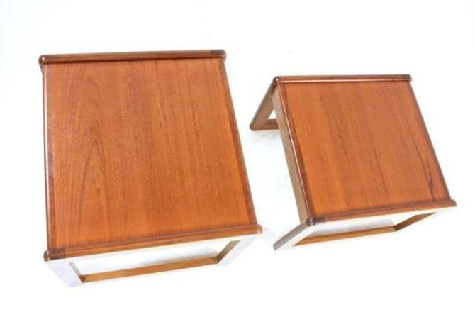 Mid Century Nest of Tables.free shipping by SputnikFurnitureLLC