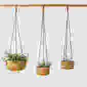 Cork Hanging Planter by MelanieAbrantes