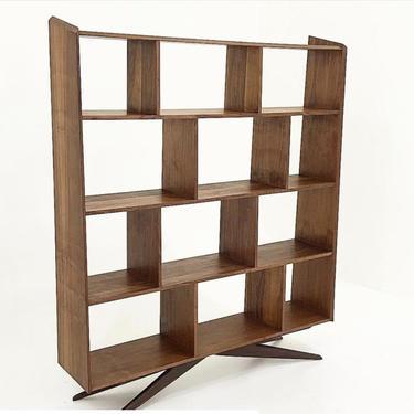 Bruce Walnut Bookcase by CaliforniaMWoodworks