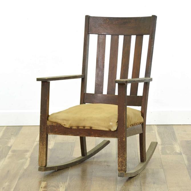Antique California Craftsman Rocking Chair
