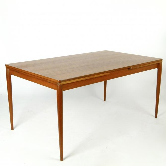 Large Teak Extension Dining Table
