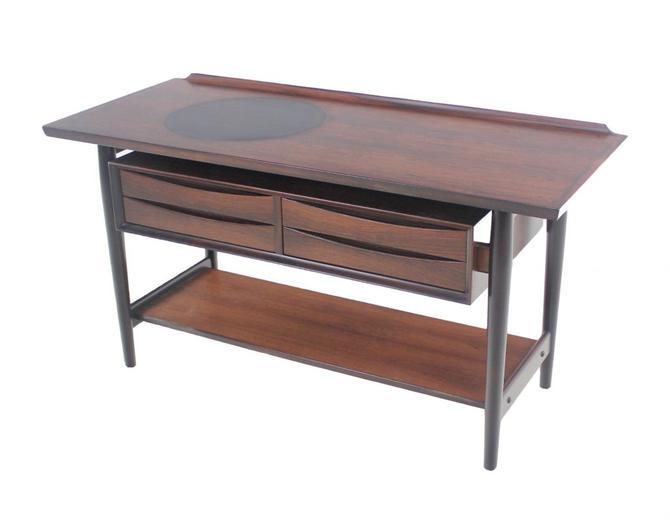 Scandinavian Modern Rosewood Sideboard Designed by Arne Vodder