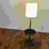 Tony Paul Vintage Floor Lamp with Table